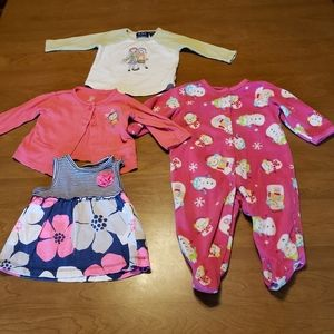 Baby Girl 6 months Bundle